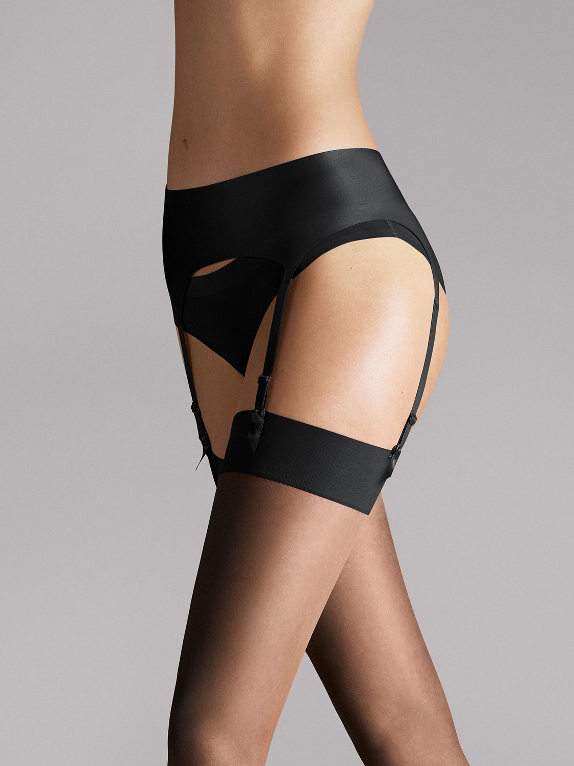 Wolford satin stocking belt Wolford