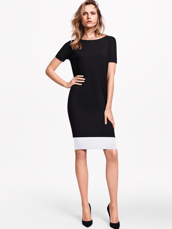 Купить со скидкой pure cut colorblock dress
