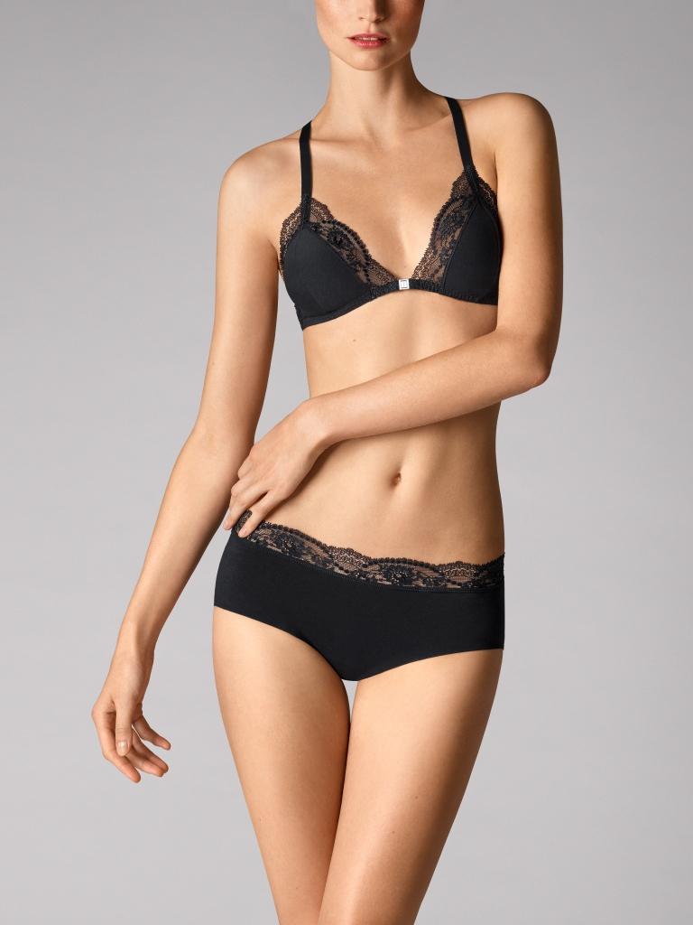 Купить со скидкой cotton contour lace skin bra