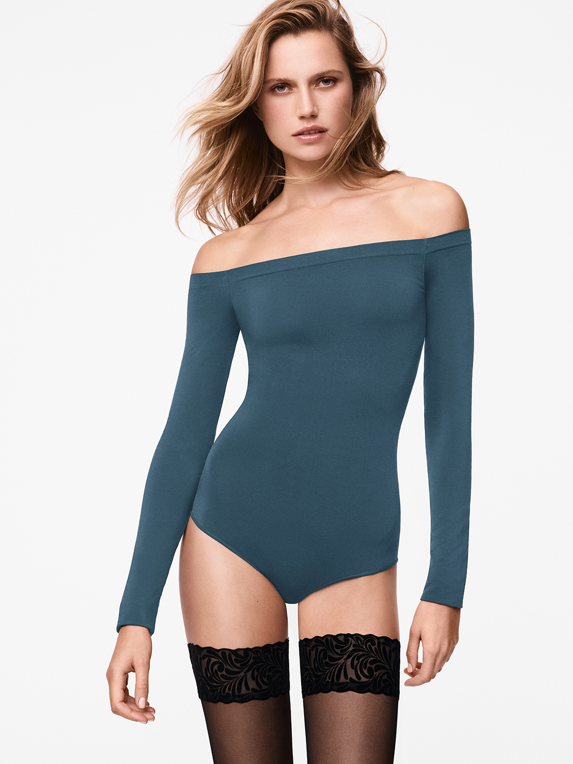Wolford Sheen Light Боди