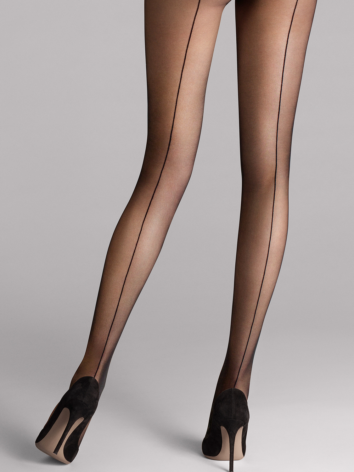 Individual 10 back seam tights фото