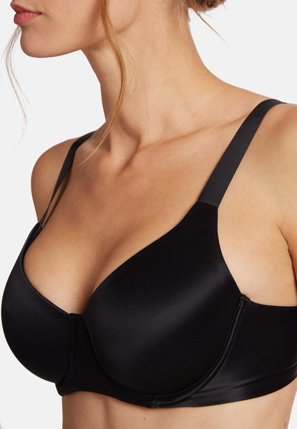 sheer touch soft cup bra