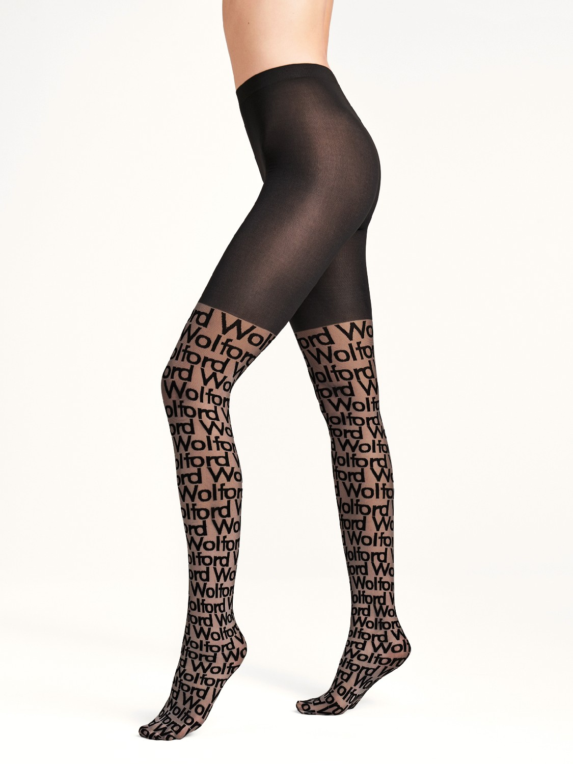 Колготы logo cover tights фото