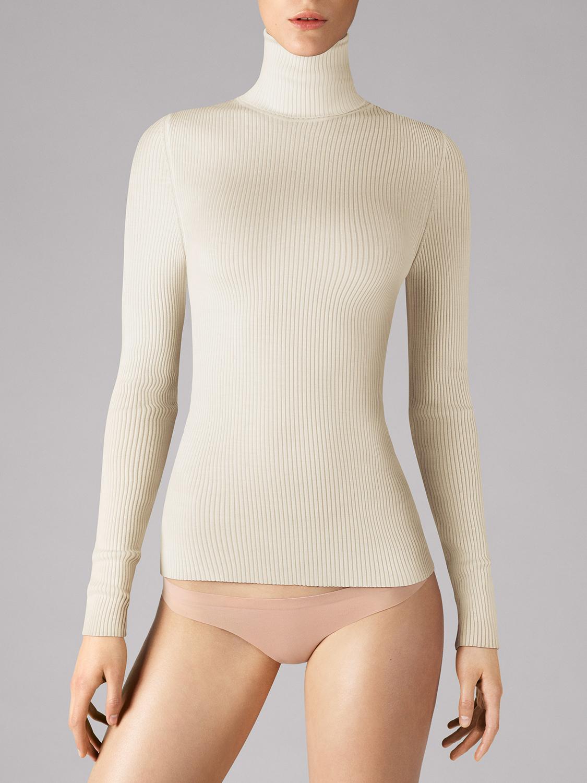 fine merino rib pullover