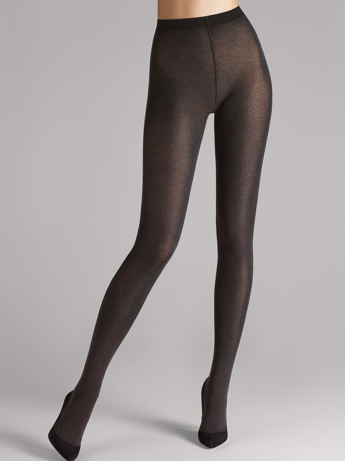 cotton velvet tights от Wolford