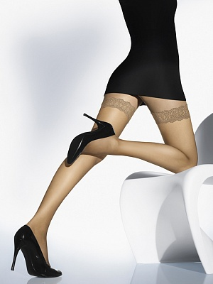Wolford Individual 10 Leg Support Чулки